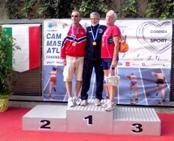 Enzo Campione Italiano Master nei 800mt